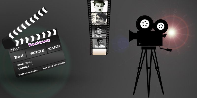 Movie Clapper And Camera By Jamsheermkd