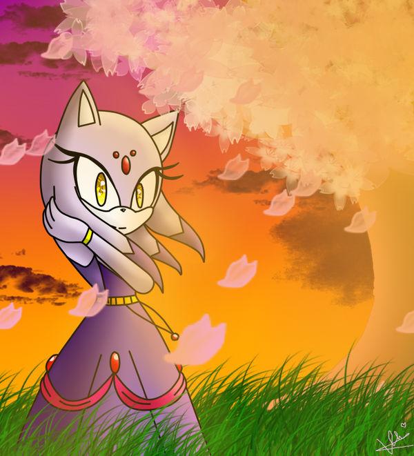 Princess Blaze The Cat