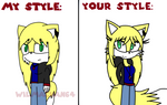 Wilma The Wolf Style Meme