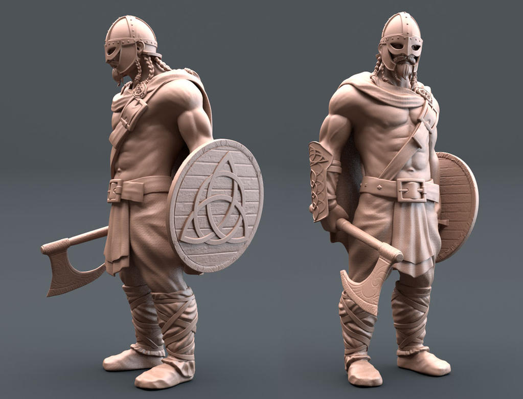 Male Character Modeling In Blender : Ancient warrior by maxew on deviantart