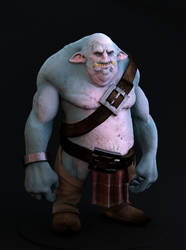 Troll Dude (W.I.P) by maxew