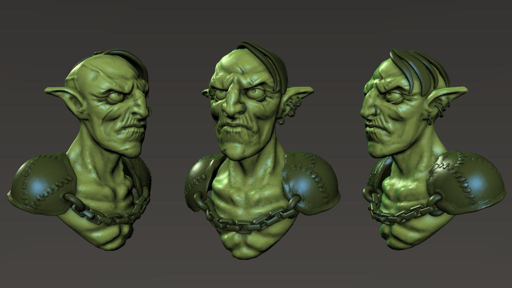 Goblin speed sculpt