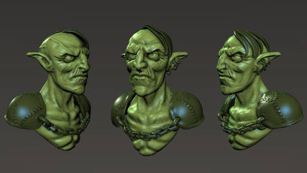 Goblin speed sculpt by maxew
