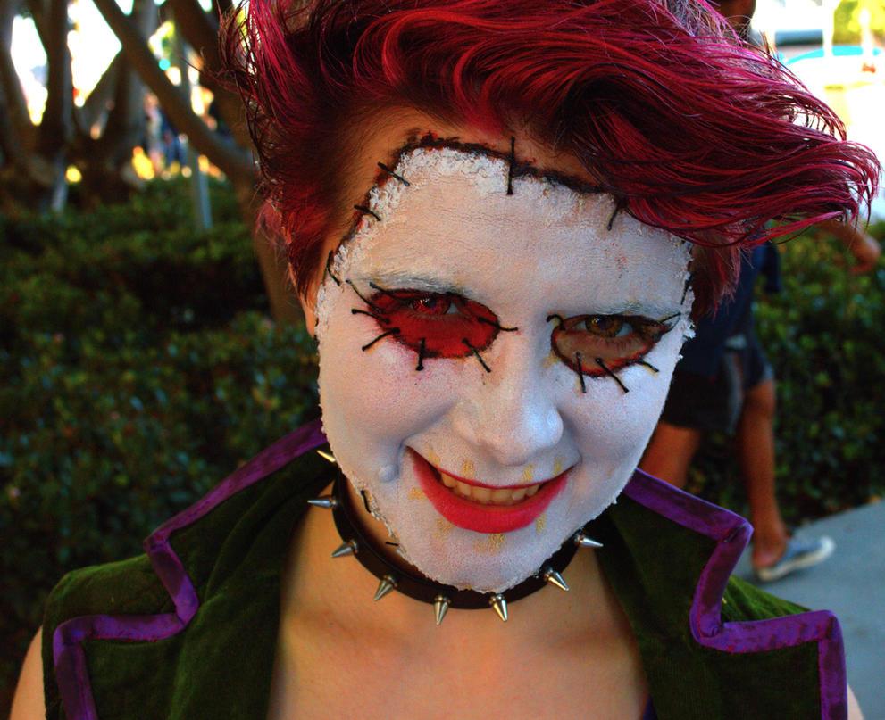 new 52 joker cosplay mask costume