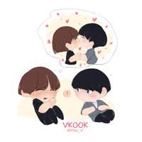 Vkook Taehyung Dreamer Small by Hyemi1230
