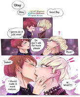 Vkook Blood Sweat and Tears behind the scene 02 by Hyemi1230