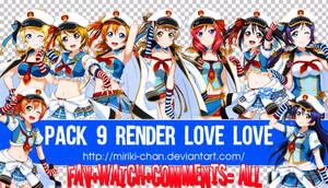 Pack #21. 9 render Love Live