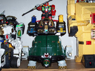 ZORDS 2 - Thunder Ultrazord by bhsdesk