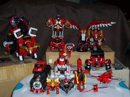 Red Zord Fleet - UPDATED by bhsdesk