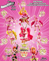 Eight Pink Precures, Dekiagari! by bhsdesk