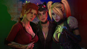 Arkham Girls 1