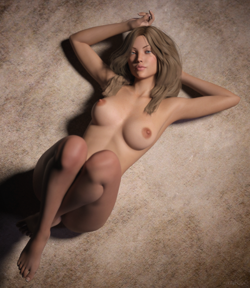 Cameron Floor Pose 1 by sereph665