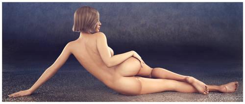 Paige Floor Pose 1 by sereph665