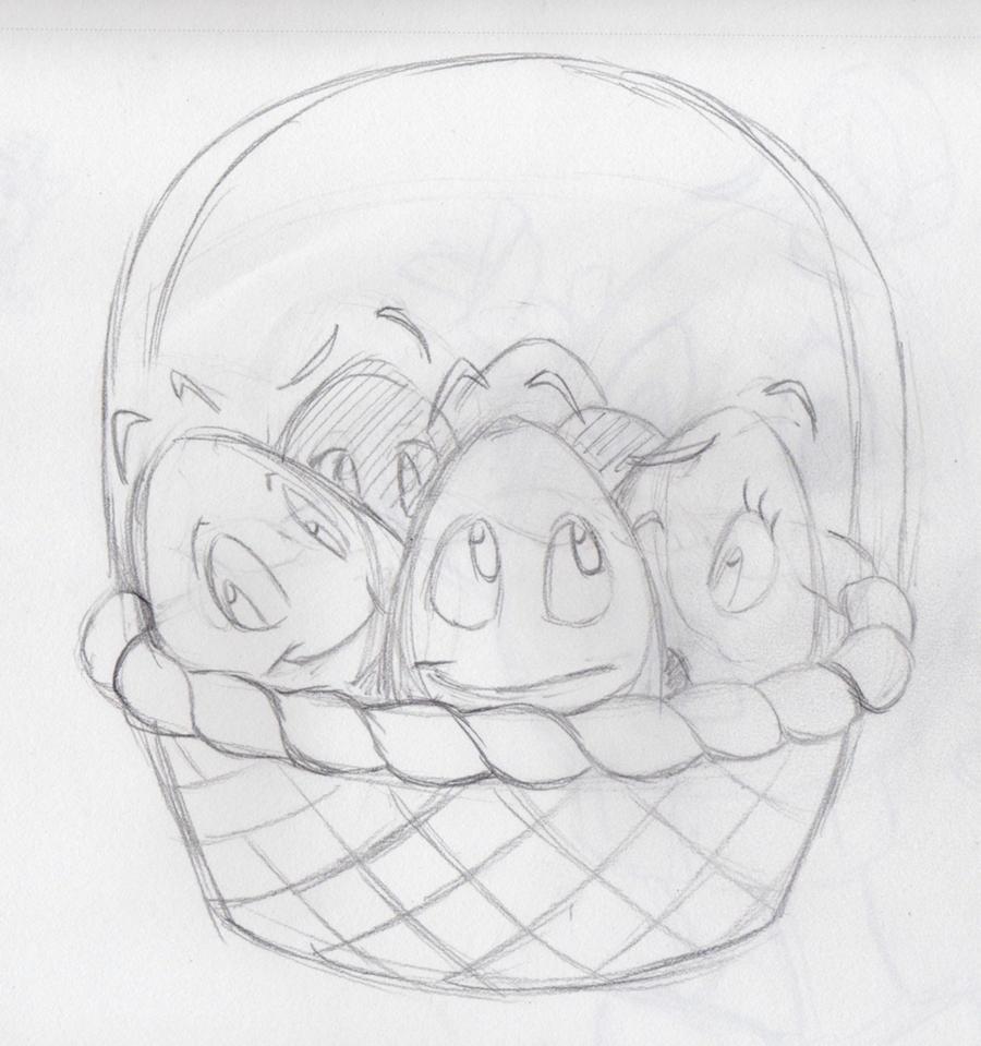Basket O' Eggs by MegShrk