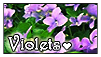 Violet Stamp by kobbie3