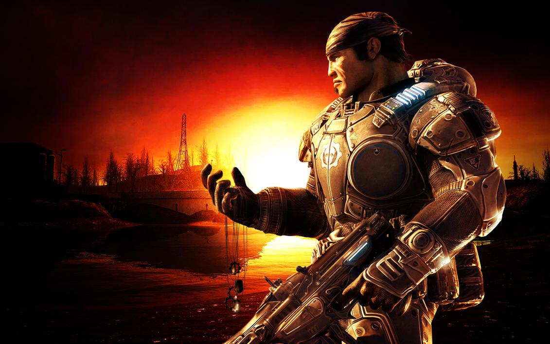 Gears of War 2, Marcus Fenix by phantomzer0