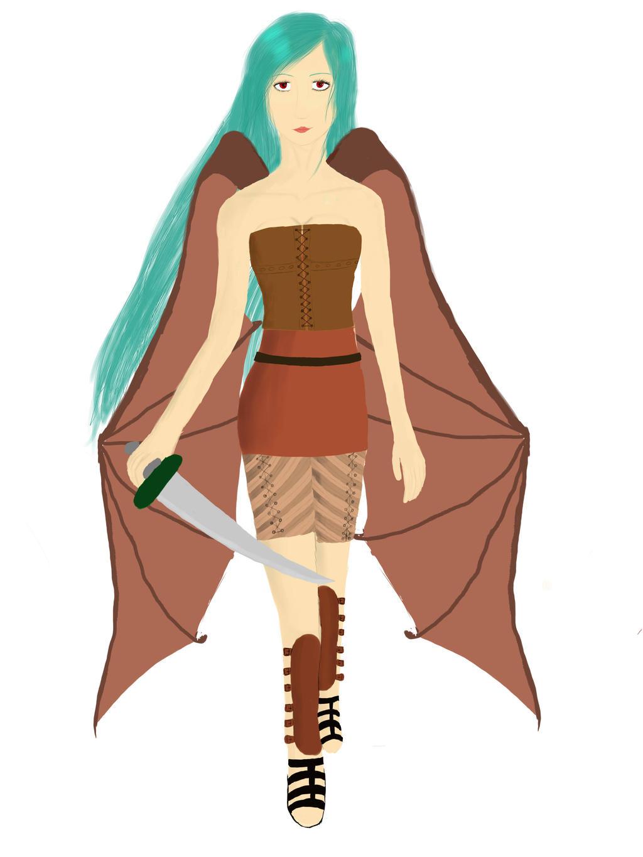 Dragonwoman by Legonie