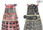Daleks talking