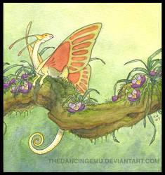 fairy dragon by thedancingemu