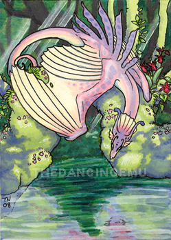 Orchid ACEO by thedancingemu