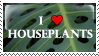 houseplants stamp by thedancingemu