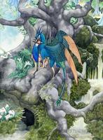 Peafowl by thedancingemu