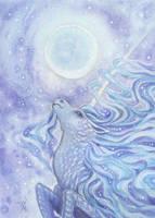 Junicorn: Moonlight Kirin by thedancingemu