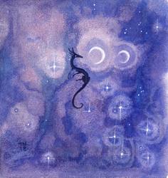 Mini: Purple Dreams by thedancingemu