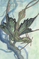 Green Moth Dragon