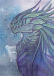 ACEO - Space Dragon 1
