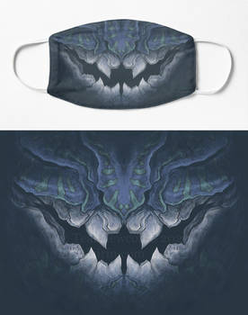 Dunkleosteus Face Mask