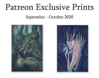 Patreon Exclusive Prints: Sept - Oct 2020