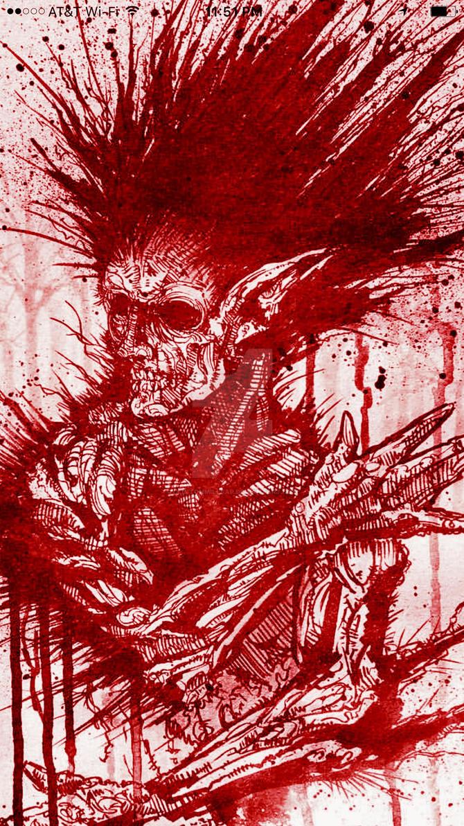 Blood Red by clintonmillsap