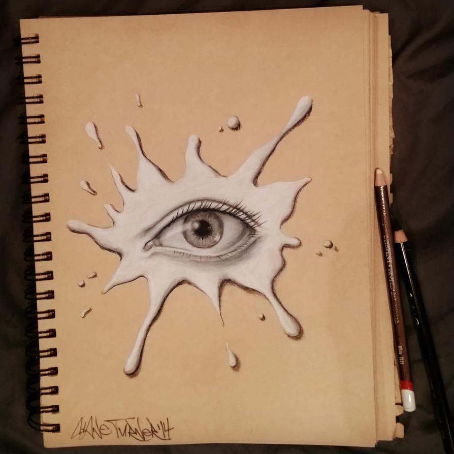 She's got her eye on you by shaneturnerart