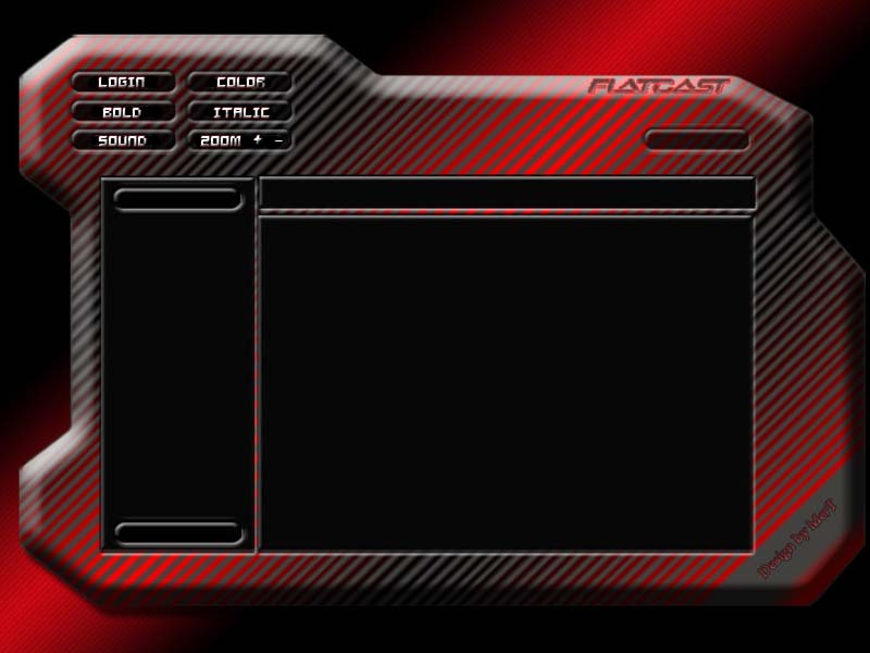 Flatcast preset theme red3d by Me-rT on DeviantArt