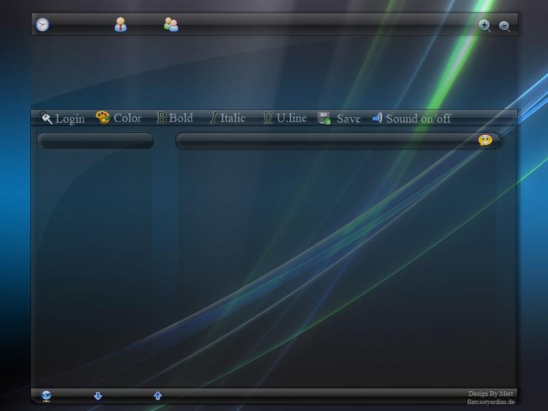 Flatcast preset theme vistablu by Me-rT on DeviantArt
