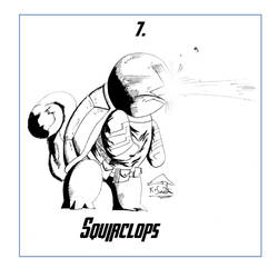 Squirclops #7 by KSmithArtwork