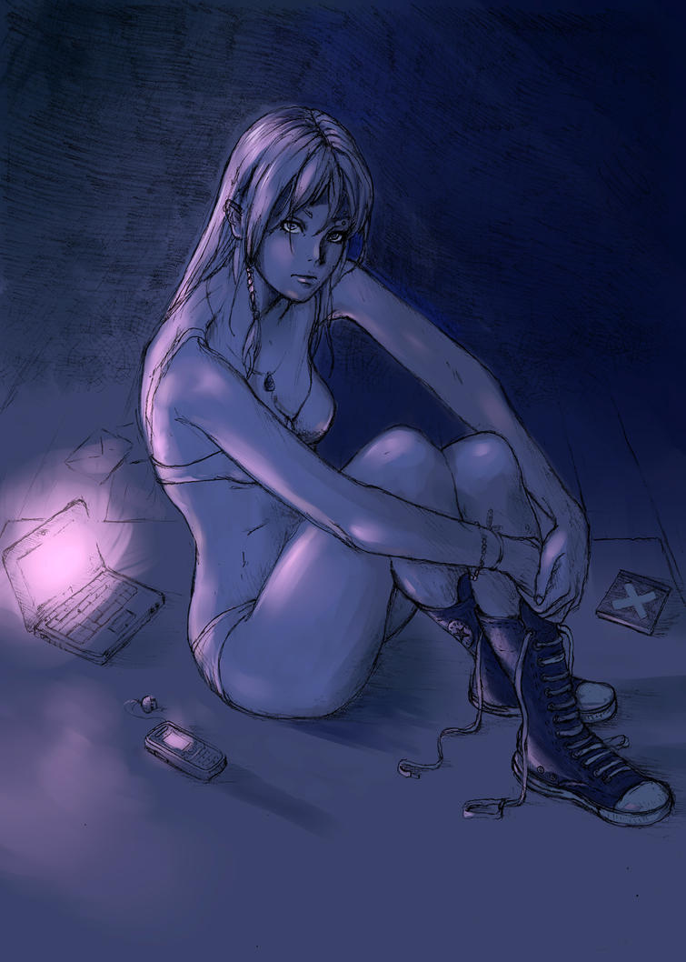 Night time - colored by arrhenius-ohlm