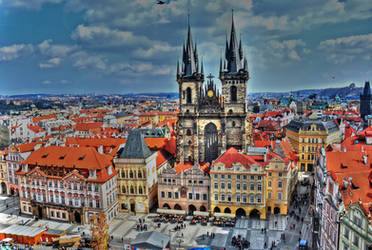 Prague by Odreon