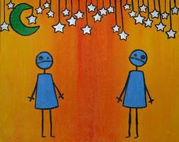 Stargazing. by wildeyes