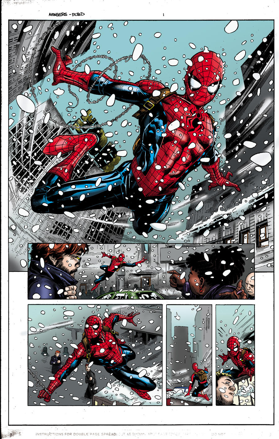 Spider Man Pages Colored For Fun Digital Webbing Forums