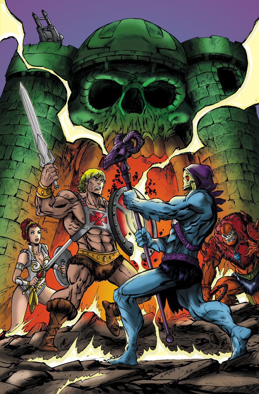 Masters of the Universe Picture Colored by Me