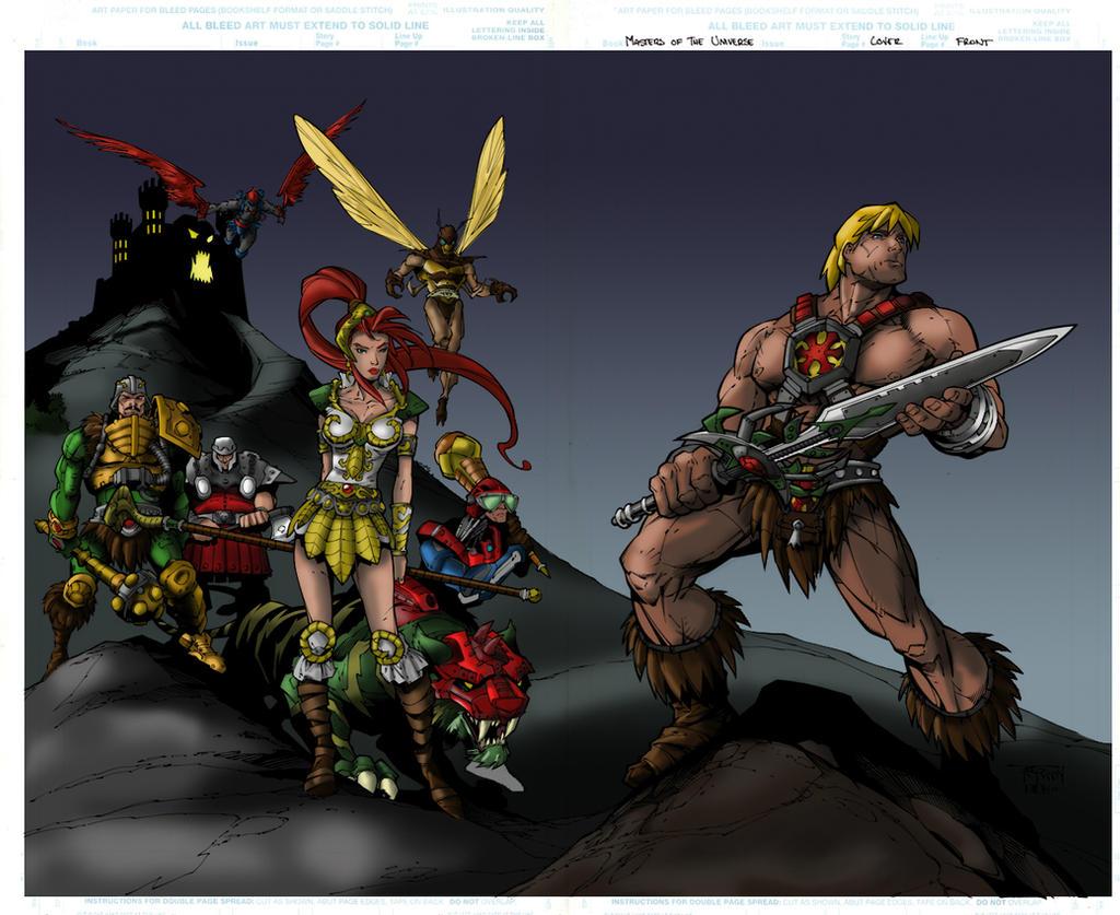 Heroic Warriors by shubcthulhu