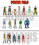 Power Pals - Heroes and Villains