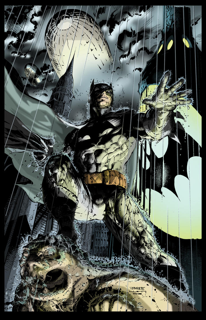 Batman by shubcthulhu