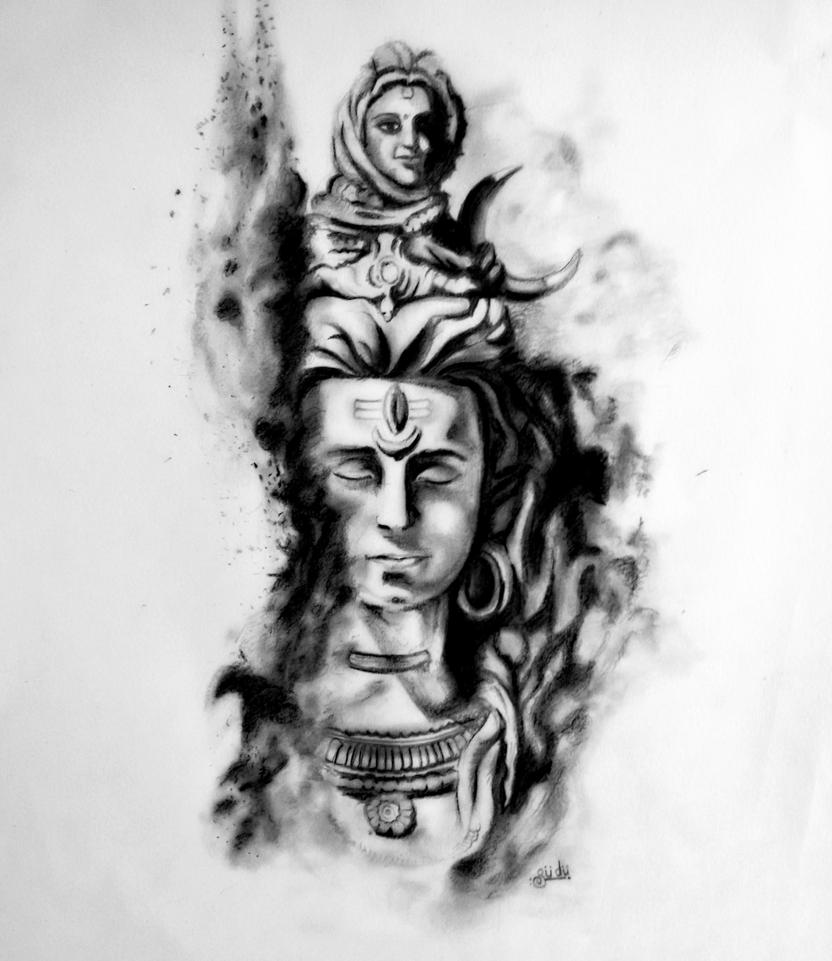 Hd Wallpapers 3d Art Tattoo Design: Shiva : The Destroyer By SudarshanGB On DeviantArt