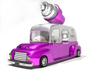 WIP Ice Cream Truck by dotau