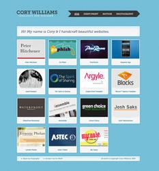 Cory Williams - Portfolio by dotau