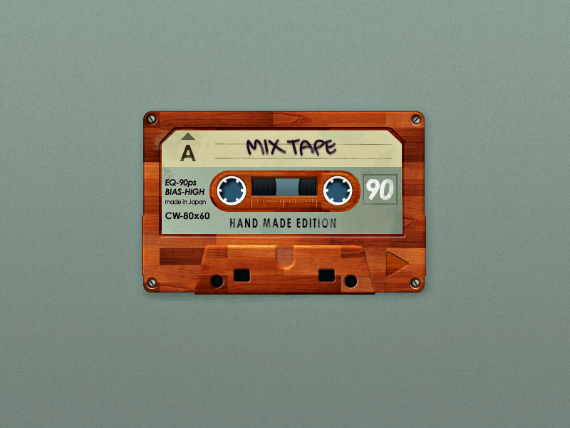 I made you a mixtape by dotau