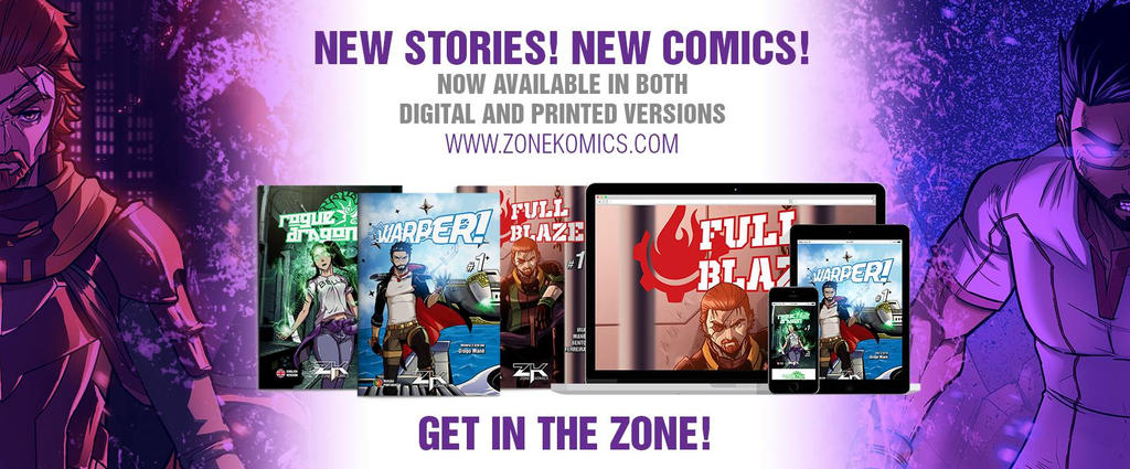 NEW STORIES! NEW COMICS! by ZoneKomics